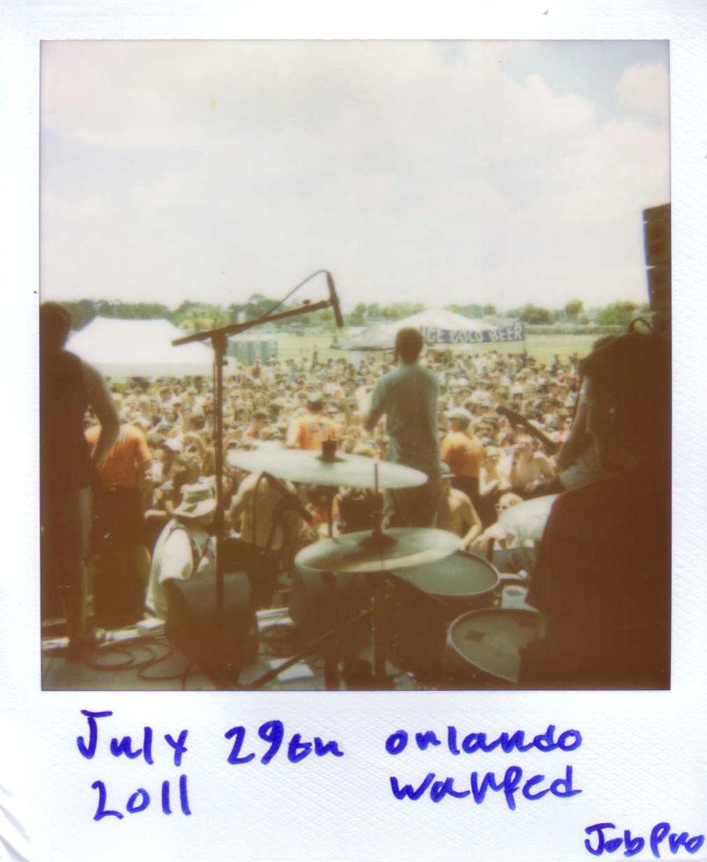 Orlando warped tour